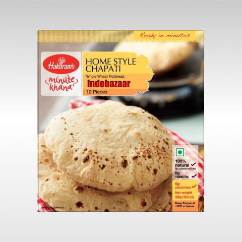 Haldiram Chapati Phulka Roti 12pcs