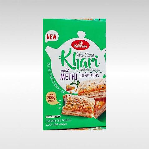 Haldiram Khari Methi Crispy Puff 200g 1