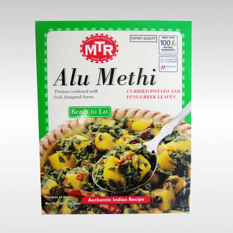 MTR ready to eat Alu Methi