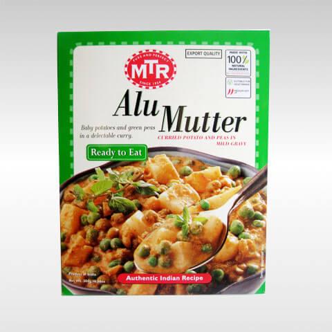 MTR ready to eat Alu Mutter