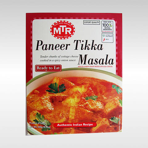 MTR ready to eat Paneer Tikka Masala