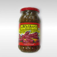 Mother' Red Stuffed Chilli Pickle 500g