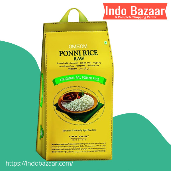 Omsum Ponni Raw Rice