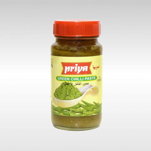 Priya Green Chilli paste 300g