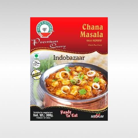 Vinees kitchen Chana Masala 1