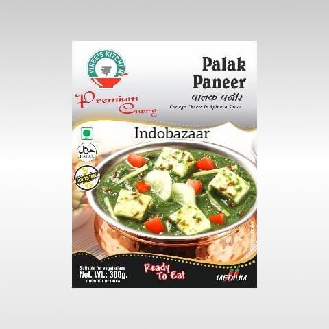 Vinees kitchen Palak Paneer 1